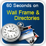 60 Sec on Wall Frames