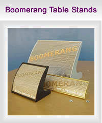 Boomerang Table Stands