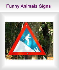 funny animals signs