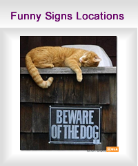 funny signs locations